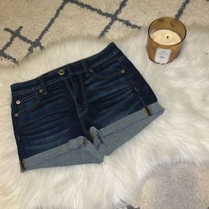 American Eagle Dark-wash shorts